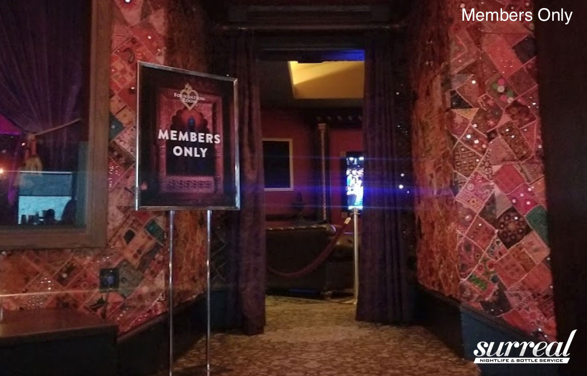 Mandalay Bay Foundation Room Halloween 2020 Members Only Foundation Room Nightclub Bottle Service Las Vegas | Surreal